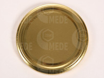 Viečko plechové zlaté 58mm