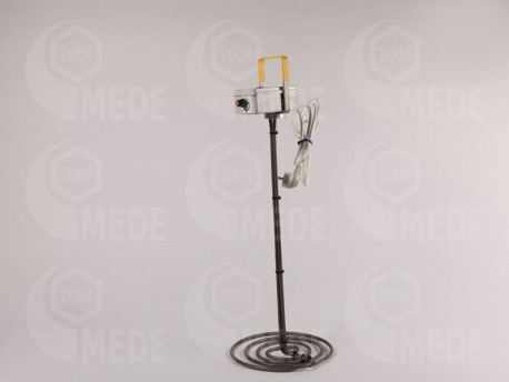 Tavička medu špirála s termostatom,230V,500W,260mm
