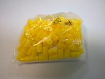 Távköztartó szöggel sárga 100db